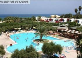 Горящие туры в отель Alex Beach Bungalows 4*, о. Родос, Греция