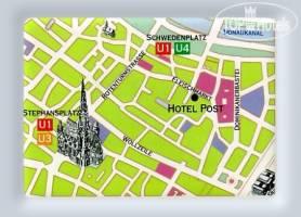 Горящие туры в отель Post 3*, Вена, Австрия