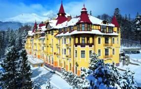 Горящие туры в отель Grandhotel Praha. 4*, Татранска Ломница,
