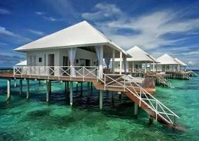 Горящие туры в отель Diamonds Thudufushi Beach & Water Villas 5*, Мале,