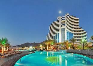 Отель Le Meridien Al Aqah 5*+ Holiday Inn Bur Dubai 4*, , ОАЭ - фото 1