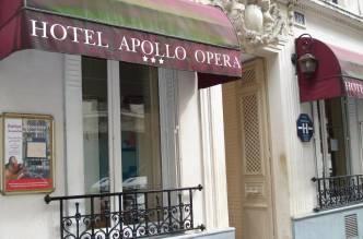 Отель Apollo Opera 3*, Париж, Франция - фото 1