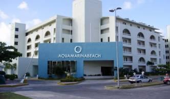 Отель Aquamarina Beach 3*, Канкун - фото 1