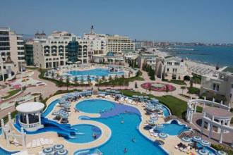 Отель Болгария, Поморье, Sunset Resort Парк 5* *, ,  - фото 1