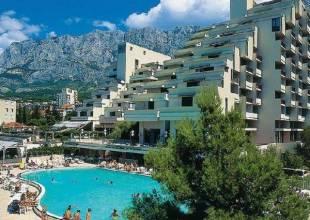 Отель Хорватия, Макарска, Meteor 4* *, ,  - фото 1