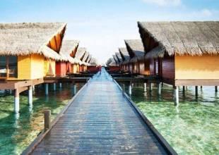 Отель Adaaran Club Rannalhi 4*, Мале, Мальдивы - фото 1