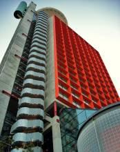 Отель Испания, Барселона, Hesperia Tower 2570 *, ,  - фото 1