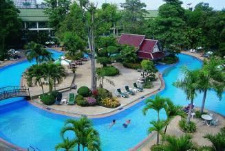 Отель Таиланд, Паттайя, Green Park Resort 3* *, ,  - фото 1