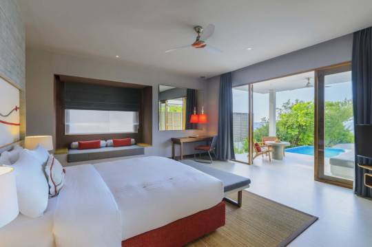 Отель Dhigali Maldives 5* deluxe *,  - фото 4