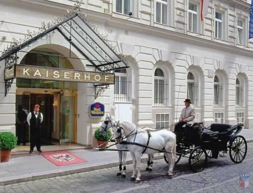 Отель Best Western Premier Hotel Kaiserhof Wien 4*,  - фото 1