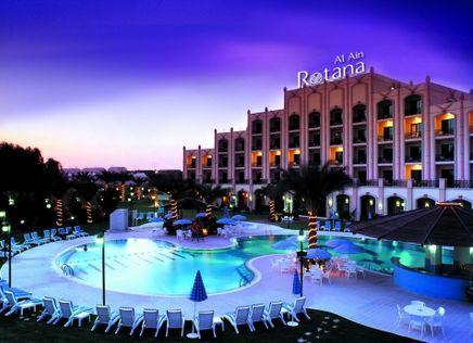 Отель Al Ain Rotana 5*,  - фото 1