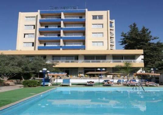 Отель Кипр, Лимассол, Caravel Hotel 2* *,  - фото 1