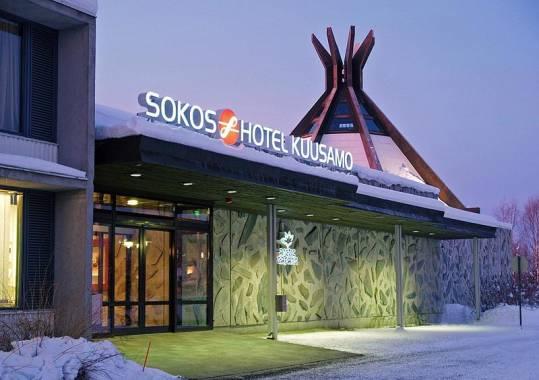 Отель Sokos Hotel Kuusamo 4*, Финляндия, Куусамо 3*,  - фото 1