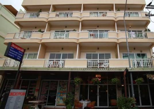 Отель Таиланд, Паттайя, Dacha Beach Hotel 3 *** *,  - фото 1